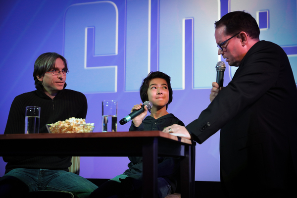 Regisseur Stefan Jäger & Loïc Sho Güntensperger Zu Gast Im Cinepol