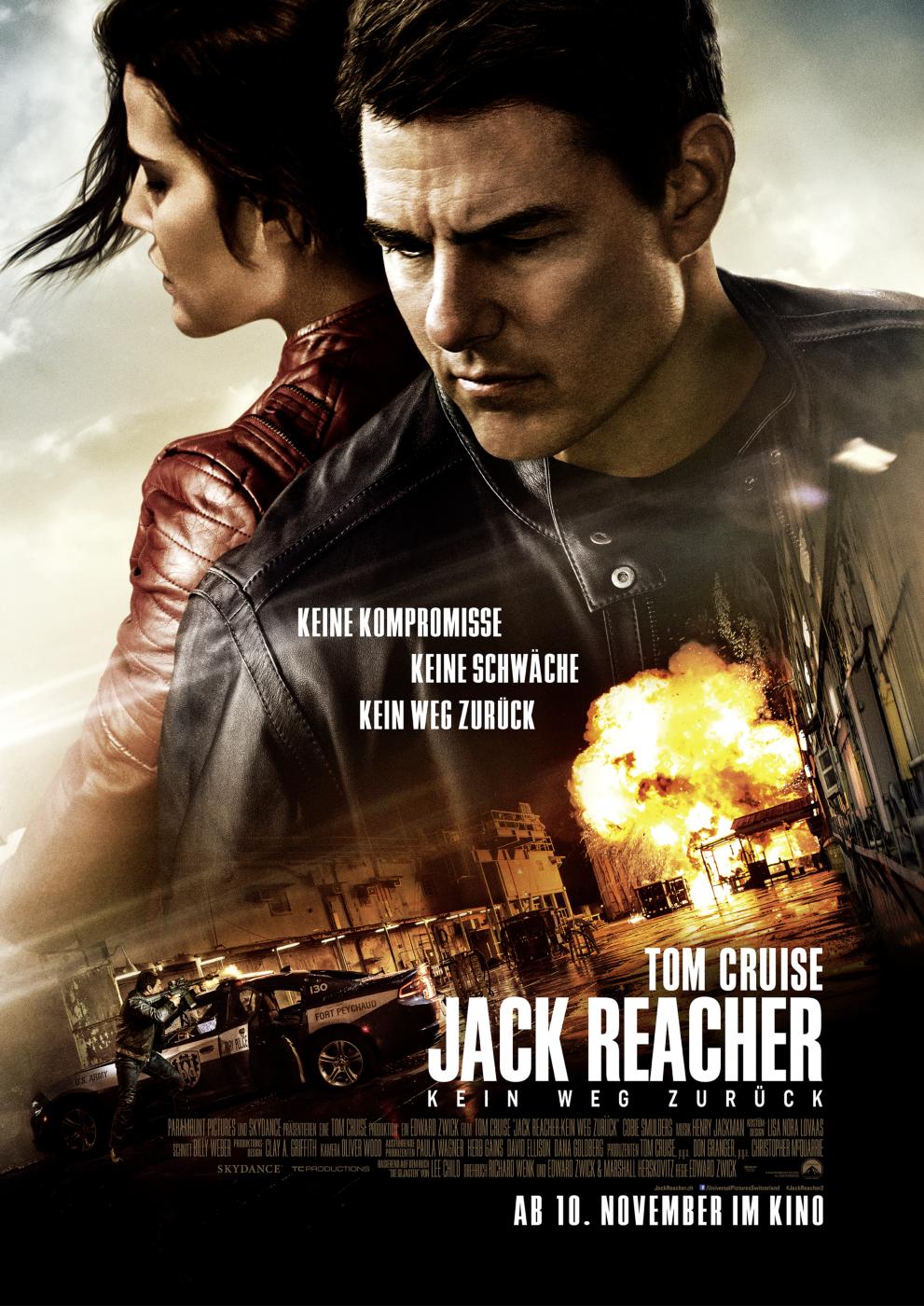 Poster Jack Reacher: Never Go Back