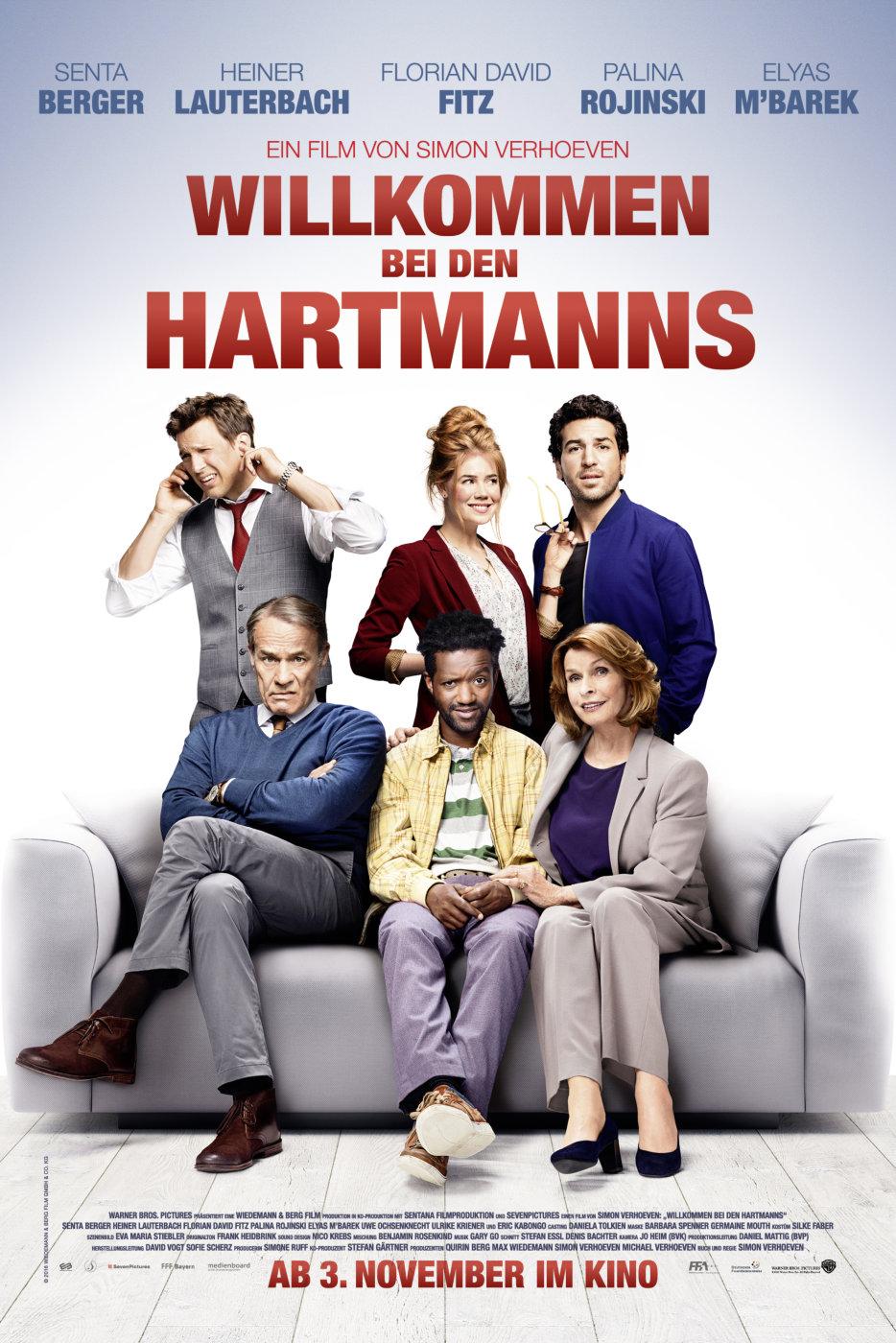 Poster Willkommen bei den Hartmanns