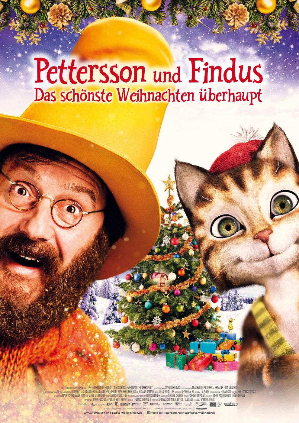 Poster Pettersson und Findus 2 - Das schönste Weihnachten überhaupt